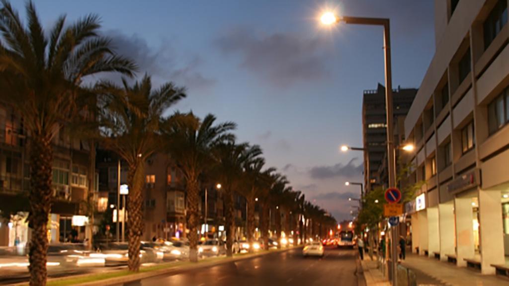 ש.מ. יוניברס Ibn Gabirol Tel-Aviv Lighting - S.M.Universe